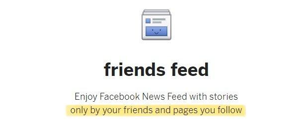 Friends feed - Οι 9 καλύτερες επεκτάσεις για να κάνετε το Facebook καλύτερο