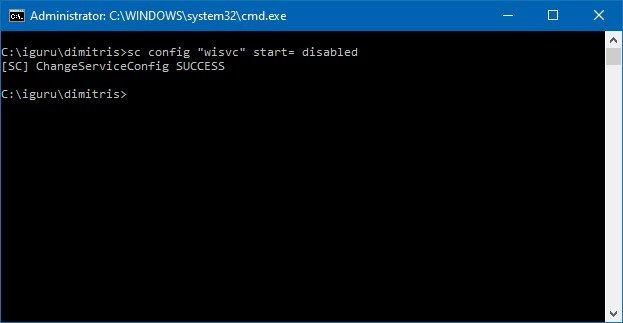 Insider 2 - Πώς να απενεργοποιήσετε την υπηρεσία Windows Insider στα Windows 10