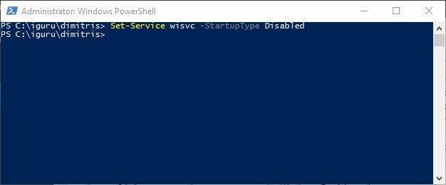 Insider 3 - Πώς να απενεργοποιήσετε την υπηρεσία Windows Insider στα Windows 10