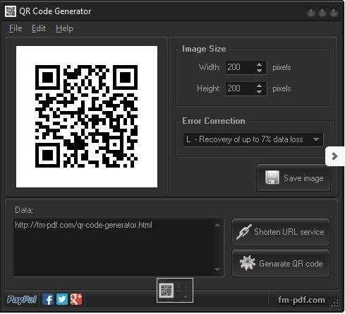QR code generator - Τα καλύτερα δωρεάν λογισμικά δημιουργίας QR κώδικα