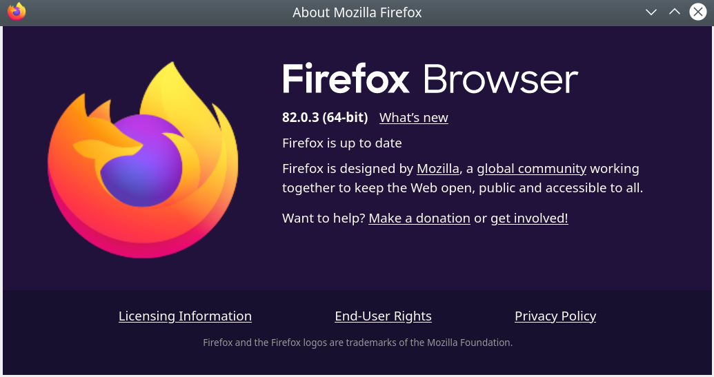 Screenshot 2020 11 09 17 19 21 - Firefox 82.0.3 λήψη πριν την επίσημη κυκλοφορία