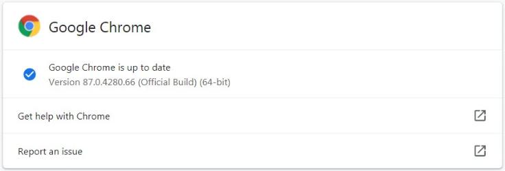 Screenshot 2020 11 18 Chrome 87 released with performance boost and security fixes - Chrome 87 κυκλοφόρησε με ενίσχυση απόδοσης και διορθώσεις ασφαλείας