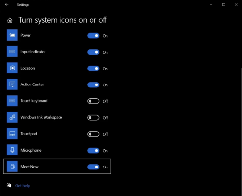 """Screenshot 2020 11 25 How to disable Microsofts new Meet Now feature in Windows 102 500x406 - Disable Microsoft's """"Meet Now"""" in Windows 10"""