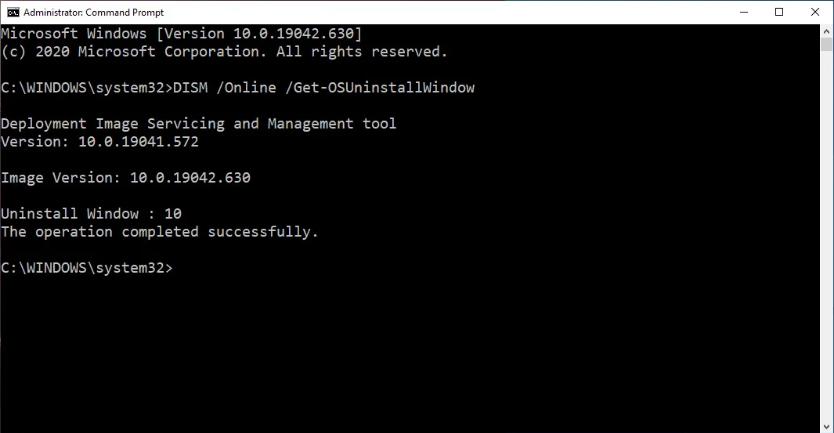 Screenshot 2020 11 30 How to get more time to uninstall Windows 10 feature updates2 - Windows 10 αφαίρεση ενημέρωσης δυνατοτήτων μετά το όριο των 10 ημερών