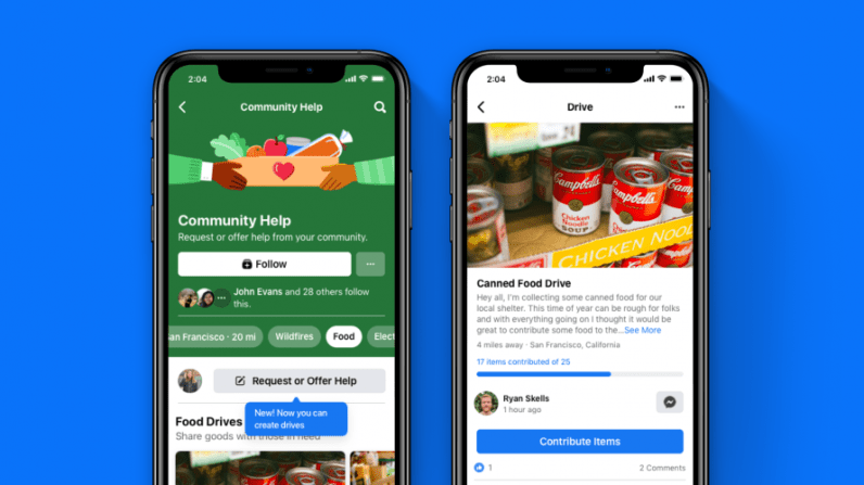 drives - Facebook Drives distribution of materials with the Community