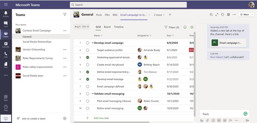 microsoft teams - Η Microsoft κυκλοφόρησε στο Microsoft Teams τις εφαρμογές Project and Roadmap
