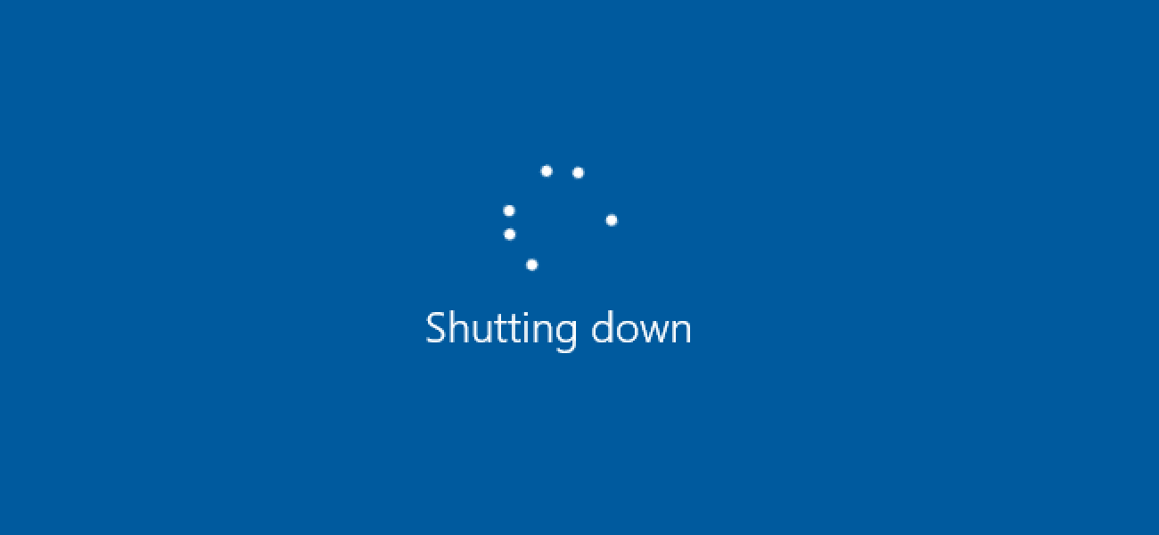 shut down - Windows 10: Disable Fast Boot in multiboot environments