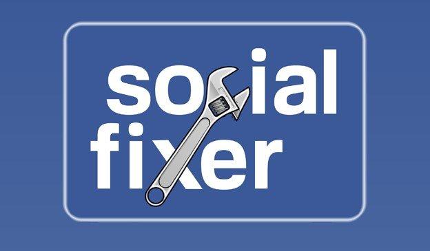 social fixer - Οι 9 καλύτερες επεκτάσεις για να κάνετε το Facebook καλύτερο