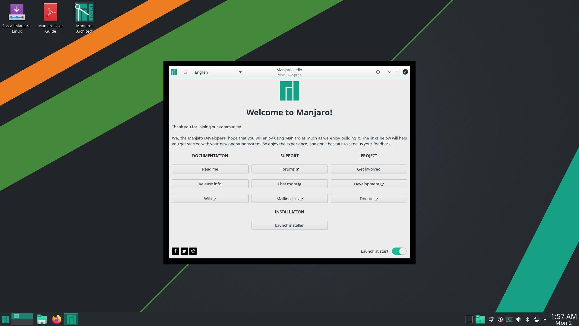 009fc1d2624d071af8db6290af705247d4474c44 - Manjaro Linux 20.2 Nibia just released