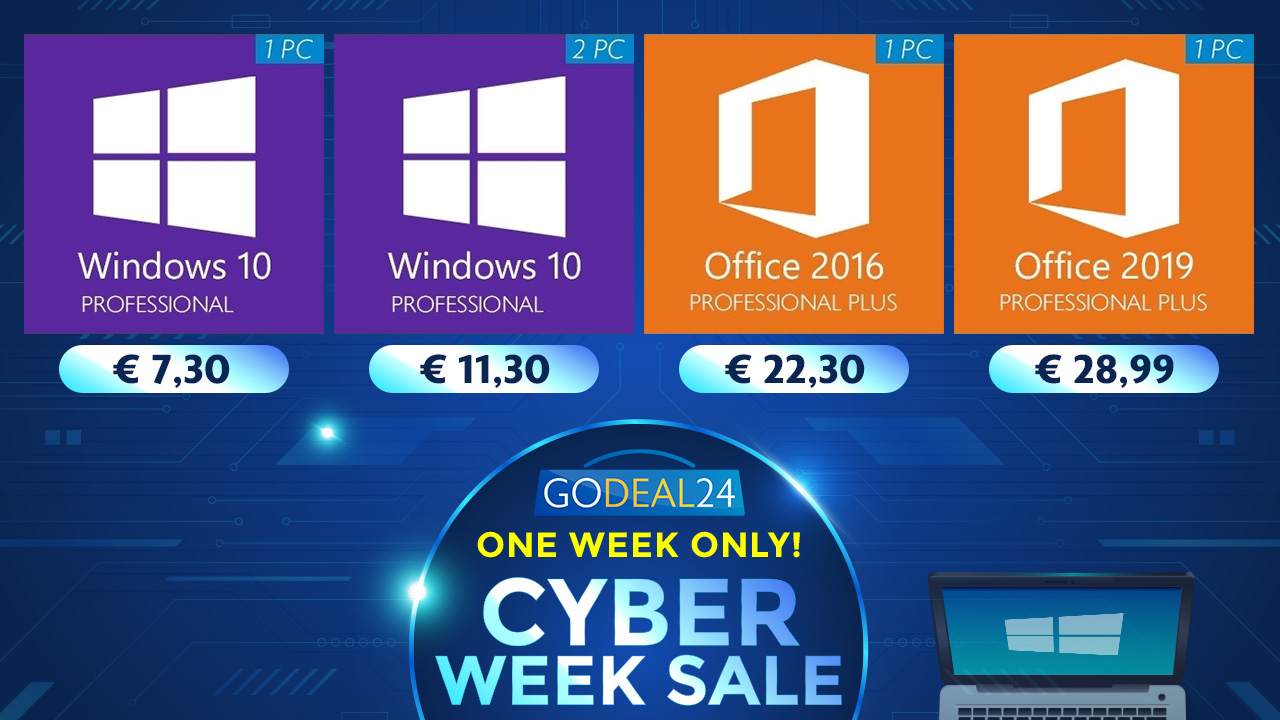 201127 1280 720 gd24 E - Windows 10 Cyber Week 2020 Offers Up to 95% off