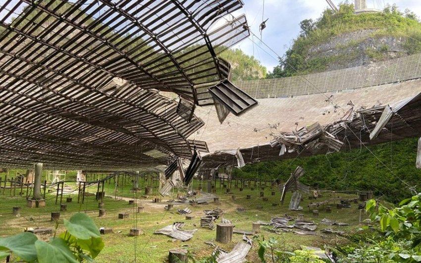 arecibo - Δείτε το βίντεο της κατάρρευσης του παρατηρητηρίου Arecibo