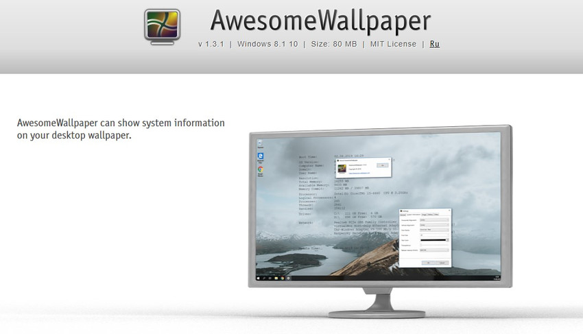 awesome wallpaper - Five free software to set a video as wallpaper in Windows 10