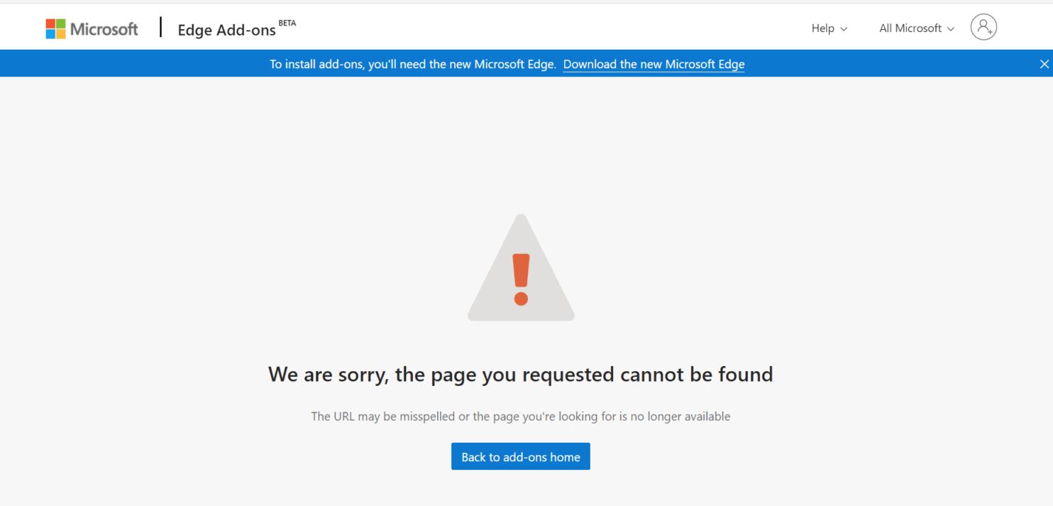 edge extension - Microsoft σοβαρό πρόβλημα με ψεύτικες επεκτάσεις του Edge