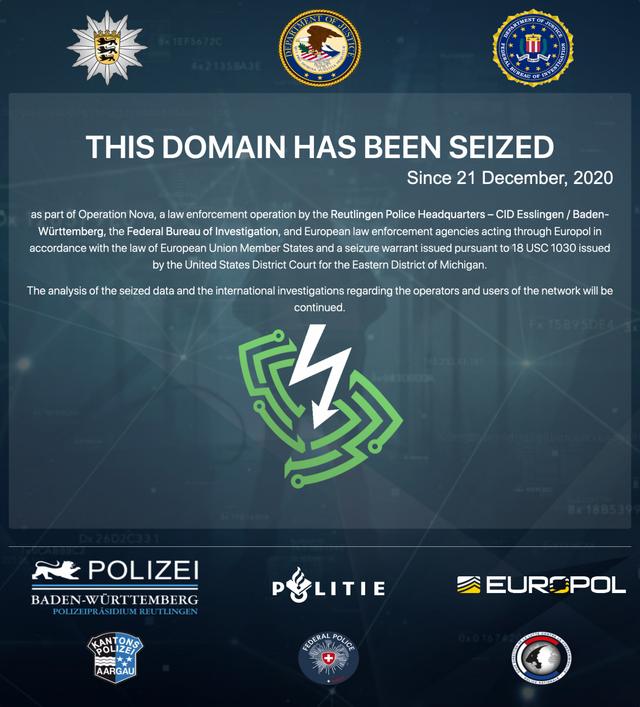europol - Closing of 3 top VPNs by Europol