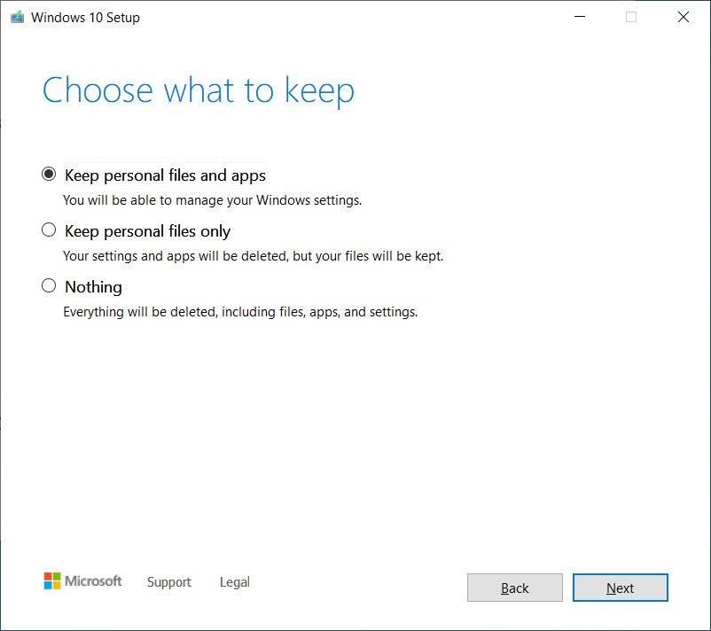 windows 2004 upgrade - Windows 10 Διορθώθηκε το σφάλμα αναβάθμισης από ISO