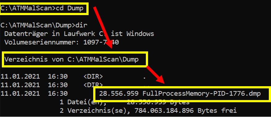 3 Scan Malware Dump - ATMMalScan: Βρες malware σε συσκευές ATM