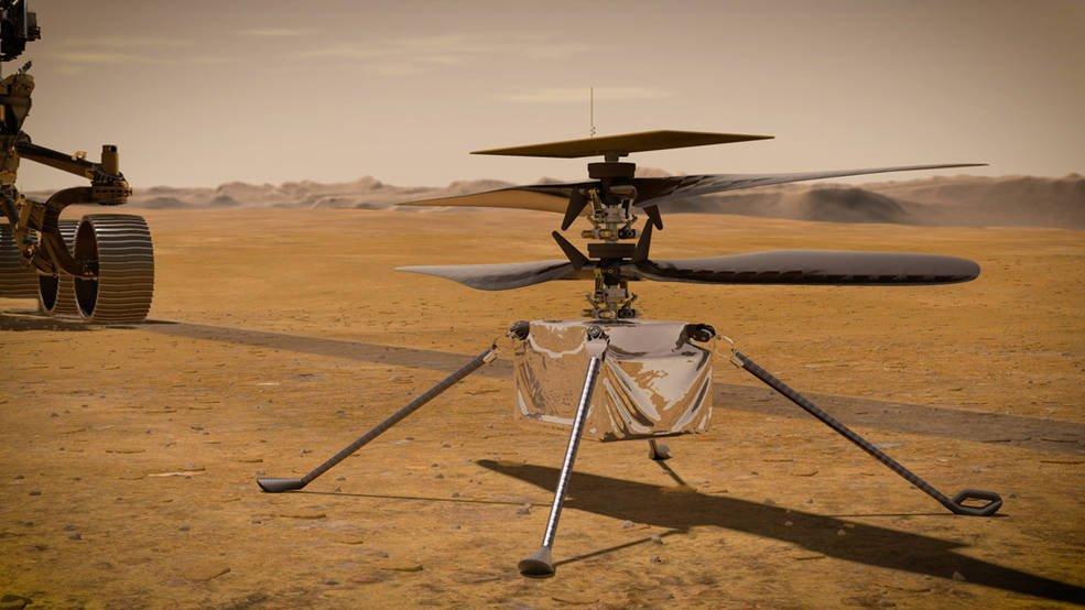 Ingenuity - NASA Ingenuity το πρώτο εξωγήινο ελικόπτερο