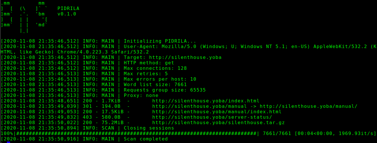 Pidrila - Pidrila - Python Deepweb Link Analyzer