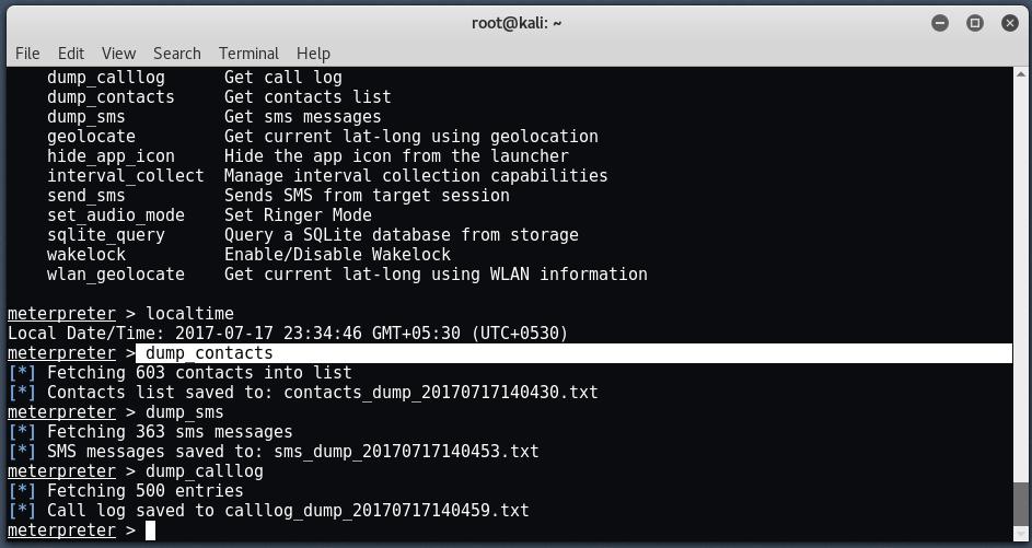 android12 - Hack σε Android με το Metasploit μέσω LAN/WAN