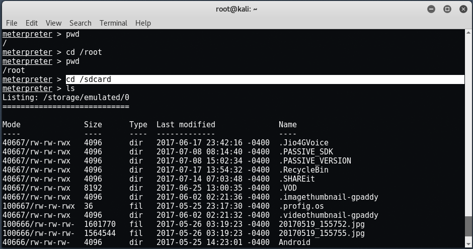 android15 - Hack σε Android με το Metasploit μέσω LAN/WAN