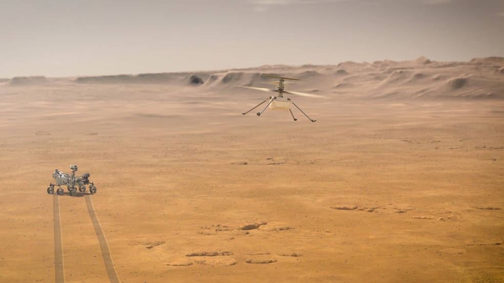 pia23963 1041 - NASA Ingenuity το πρώτο εξωγήινο ελικόπτερο