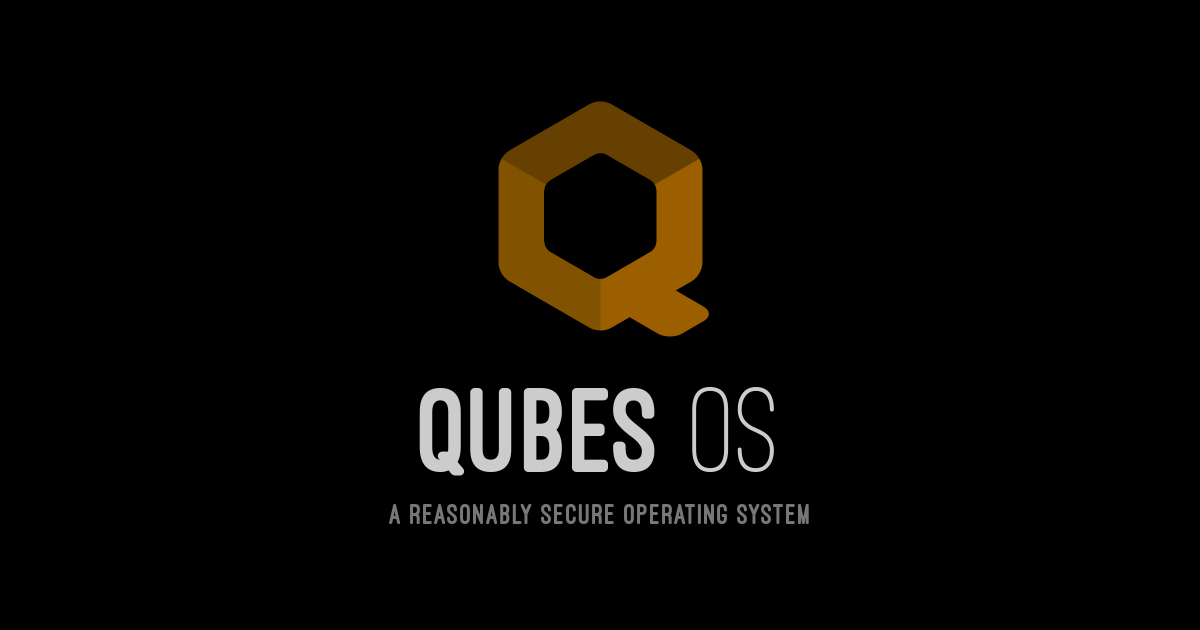 qubes OS - Qubes OS the most secure Linux distribution (for a few)