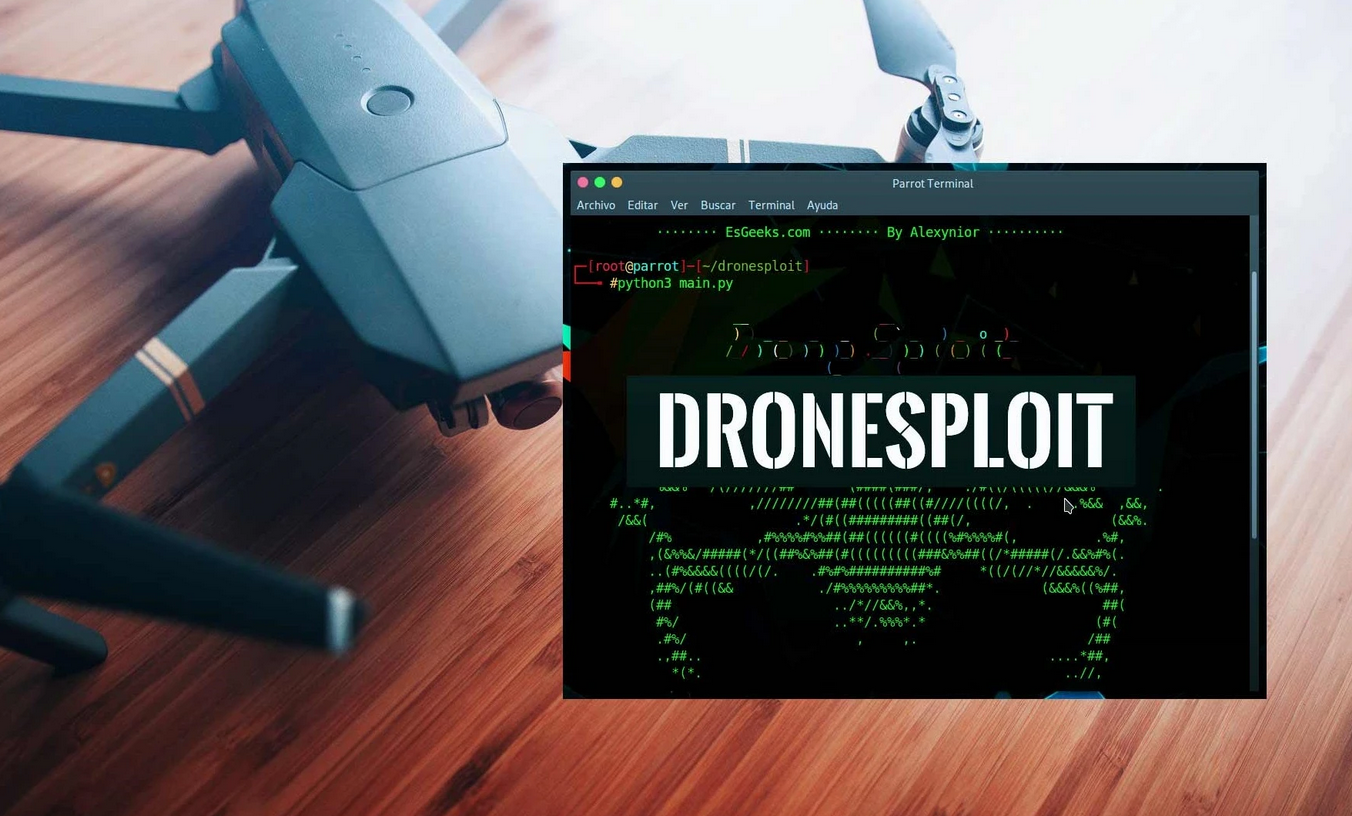 DroneSploit - Drone Operation and Demolition Guide