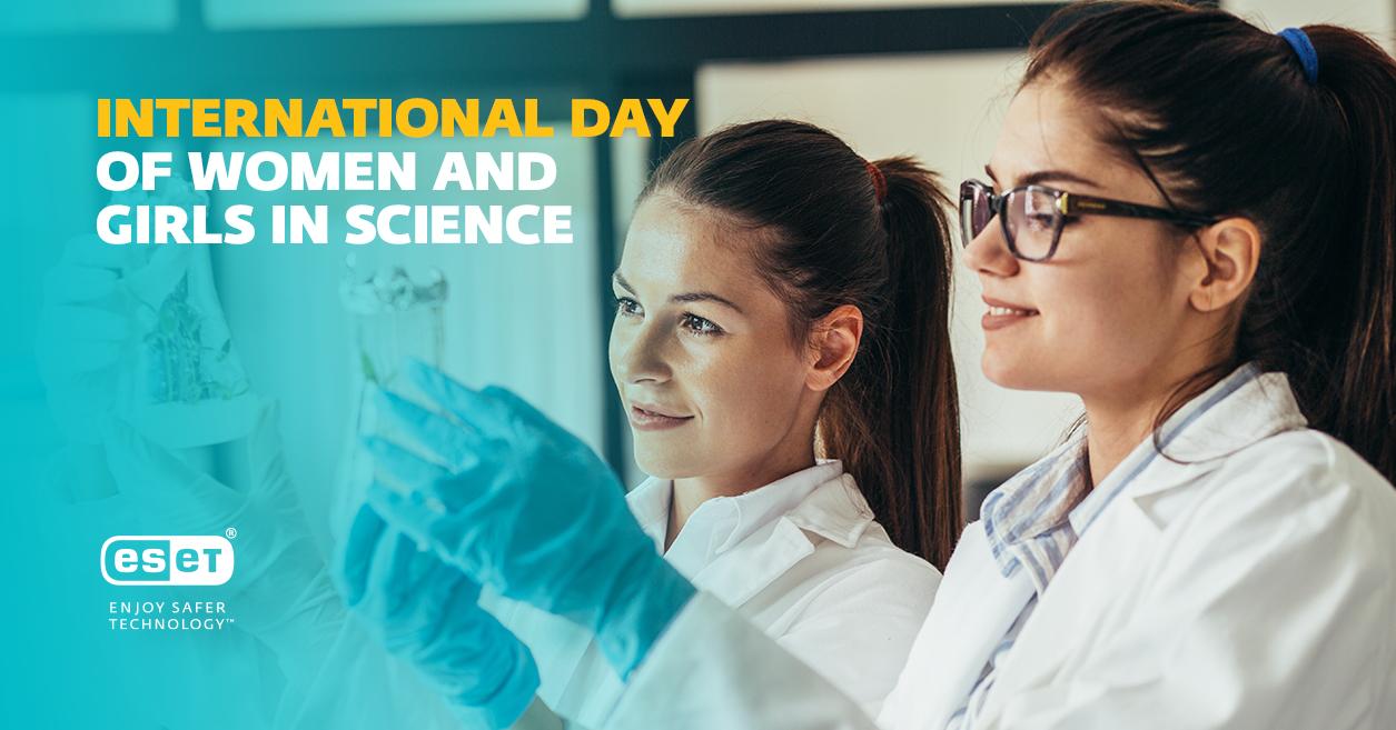 ESET Women Technology - ESET: International Women in Science Day