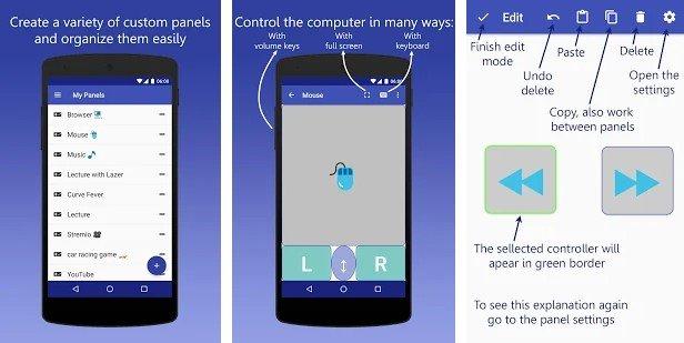 InfiniMote - 7 εφαρμογές Android που λειτουργούν ως τηλεχειριστήριο για τον υπολογιστή σας