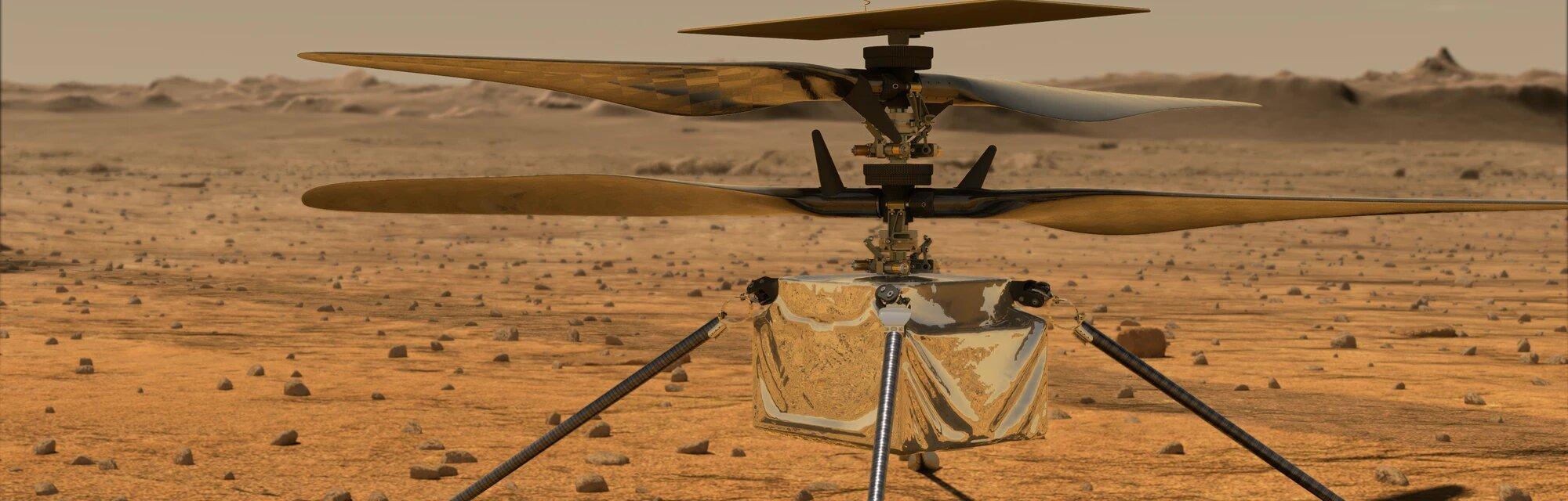 Ingenuity - Linux και open-source έφτασαν στον Άρη