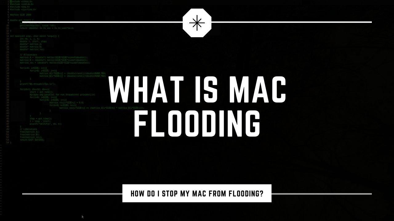 Mac Flooding - Η τεχνική μιας επίθεσης MAC flooding