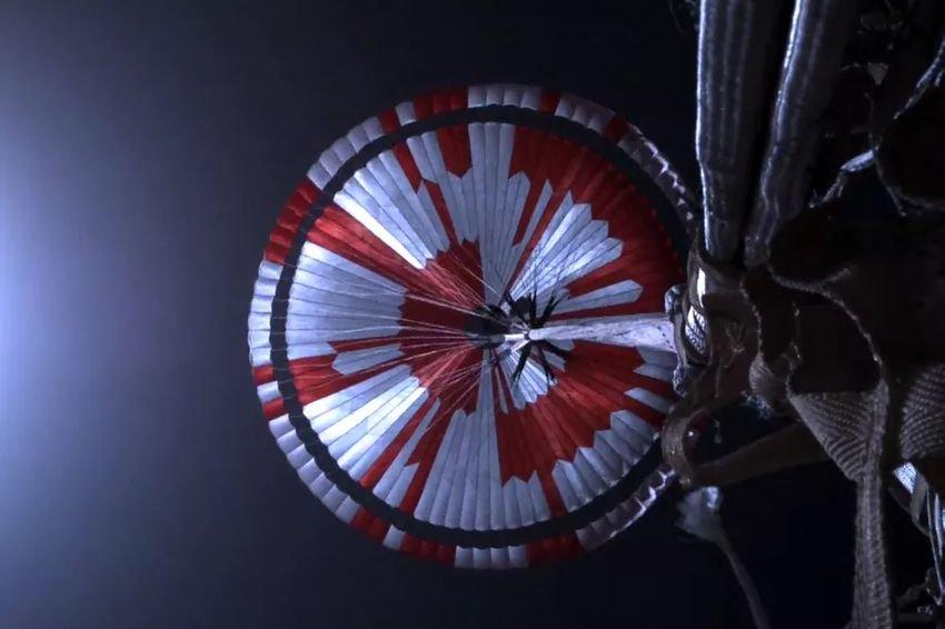 Mars Perseverance - Κρυφό μήνυμα στο αλεξίπτωτο του νέου rover της NASA
