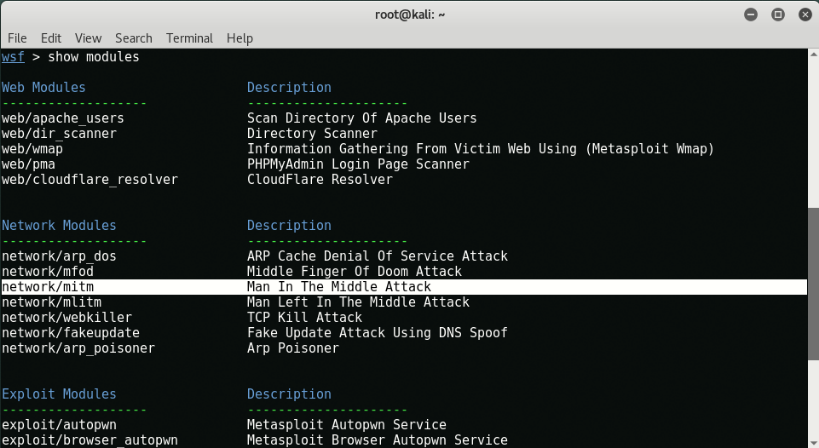 Screenshot 2021 02 22 Man in the Middle Attack with Websploit Framework Yeah Hub1 - Οδηγός επίθεσης MITM σε τοπικό δίκτυο