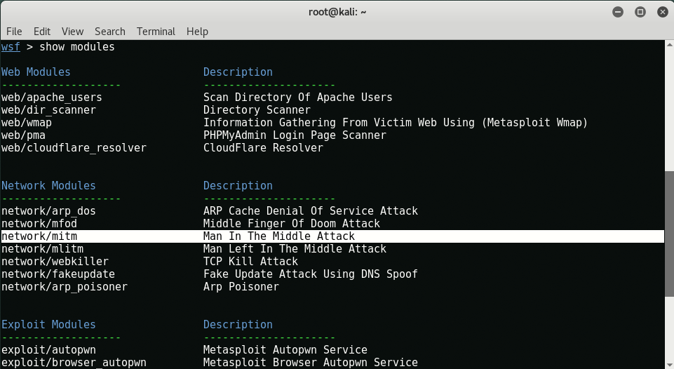 mitm3 - Capture HTTPS / FTP packets with ARP Spoofing and MITM
