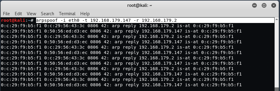mitm4 - Capture HTTPS / FTP packets with ARP Spoofing and MITM
