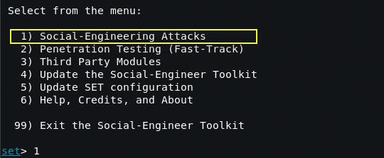 setoolkit1 - Οδηγός για μια επιτυχημένη Phishing επίθεση