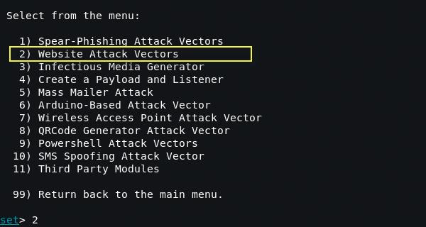 setoolkit2 - Οδηγός για μια επιτυχημένη Phishing επίθεση