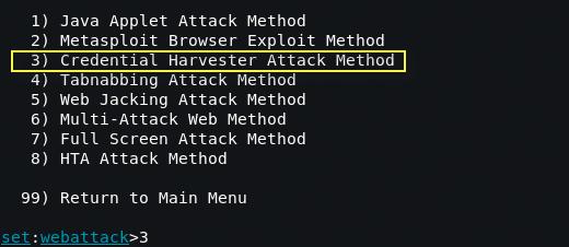setoolkit3 - Οδηγός για μια επιτυχημένη Phishing επίθεση