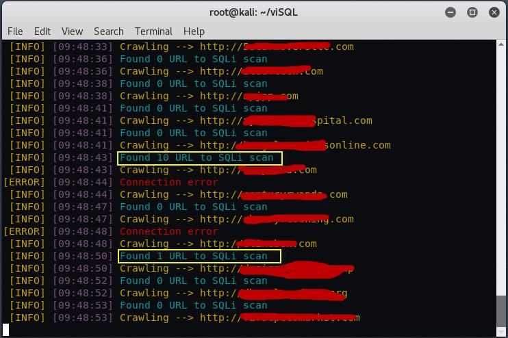visql5 - Ανακάλυψε SQL Injection σε έναν Web Server