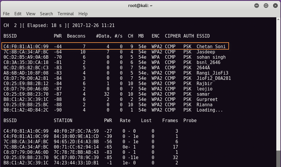 wpa2 cracking3 - WPA2-PSK network break with Aircrack and Dictionary
