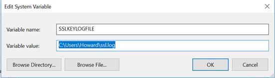 030471 1 - Decrypting SSL/TLS traffic με το Wireshark