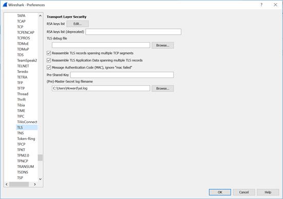 030471 2 - Decrypting SSL/TLS traffic με το Wireshark