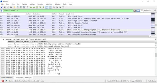 030471 4 - Decrypting SSL/TLS traffic με το Wireshark