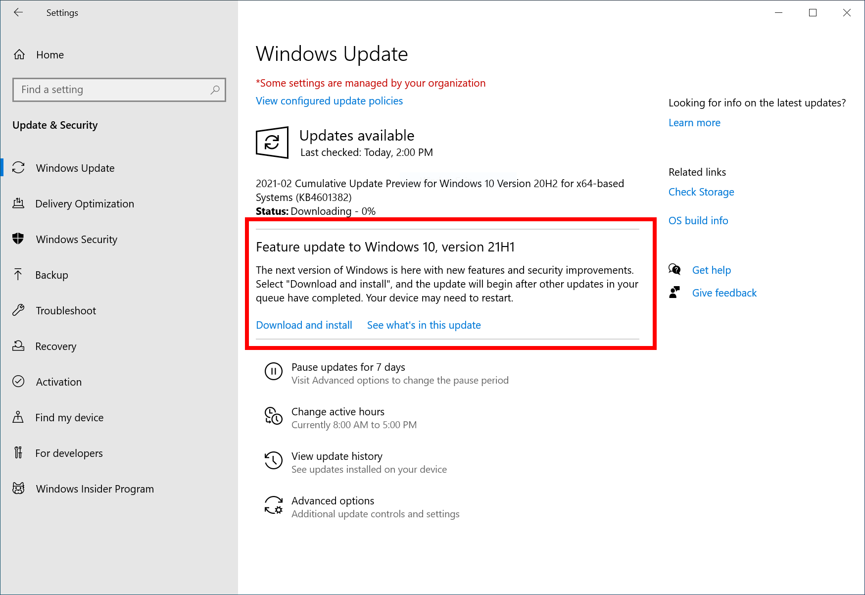 Capture - Windows 10 21H1 Beta (δεν είναι η έκδοση Sun Valley)