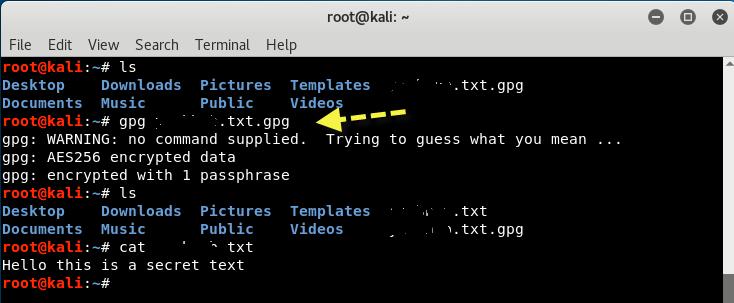 Screenshot 2021 03 05 Encryption and Decryption of Files in Linux with GnuPG Yeah Hub - Encryption και Decryption αρχείων εύκολα και γρήγορα