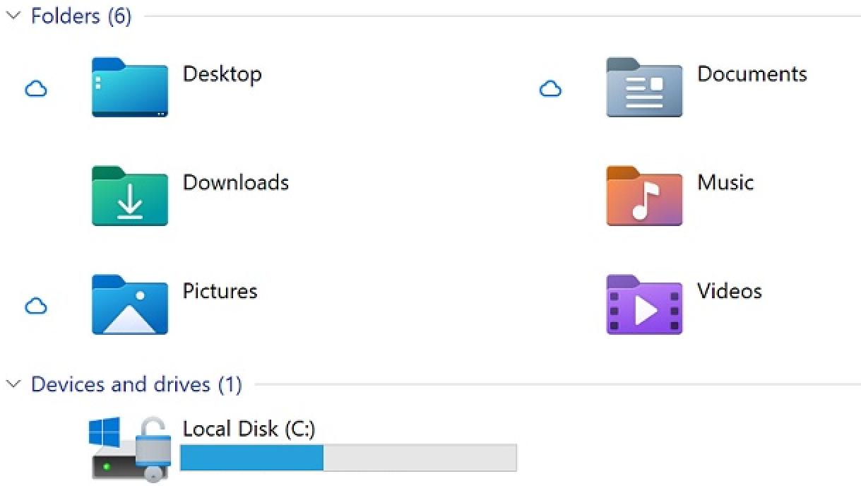 Screenshot 2021 03 25 16 11 08 - Windows 10 File Explorer με νέα εικονίδια